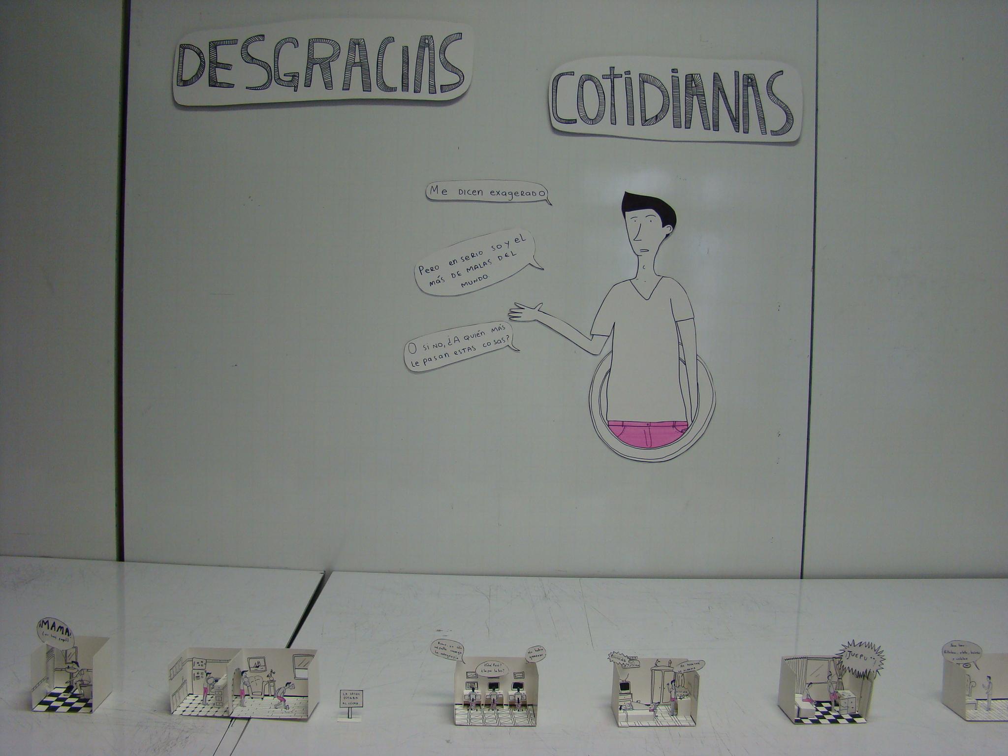 Laura Junco — 'Desgracias cotidianas'
