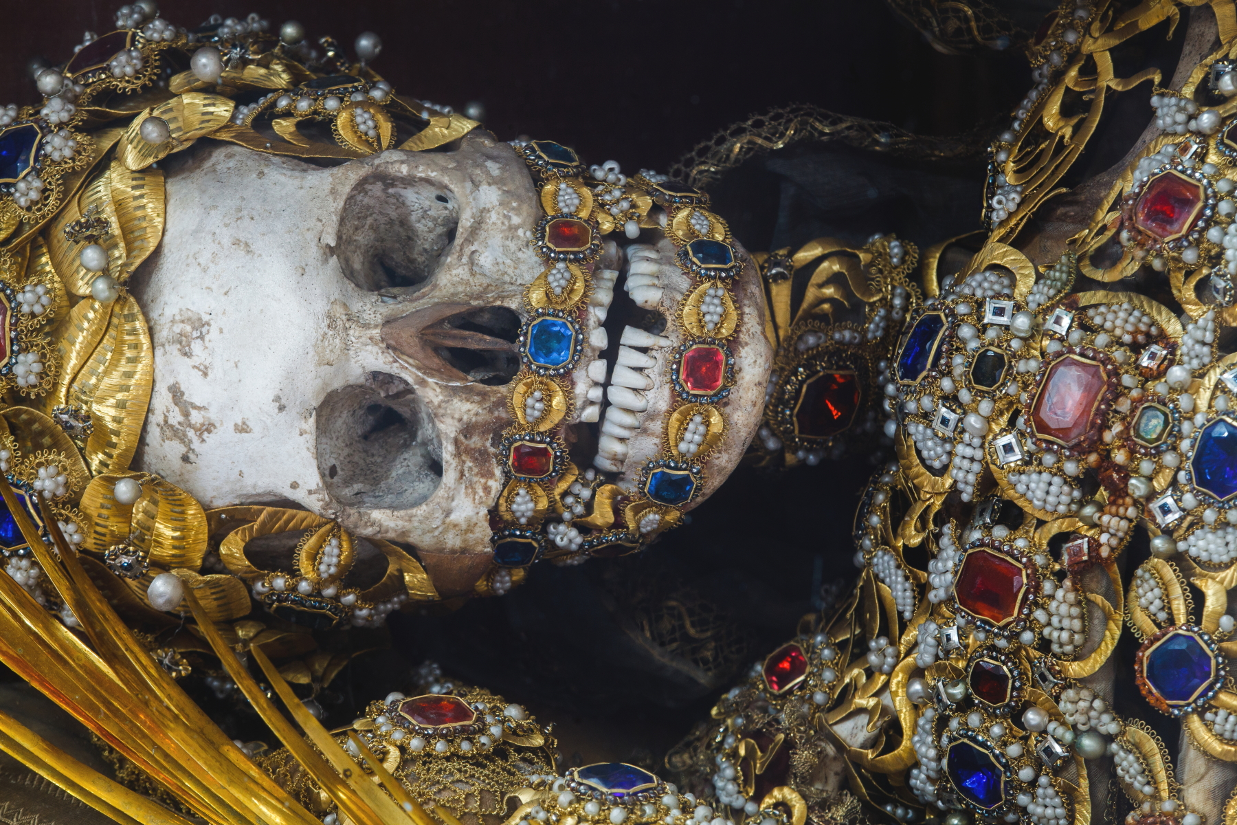 Paul Koudounaris' Heavenly Bodies: Cult Treasures and Spectacular Saints from the Catacombs.