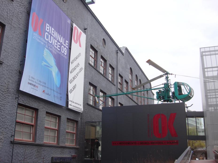 OÖ OK Offenes Kulturhaus. Linz 09. Foto: _andrea_mendoza