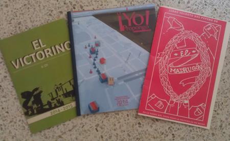 Los Folletos: El Victorino, Yo Propongo! y El Libro Secreto de los Futuros del Madrugon