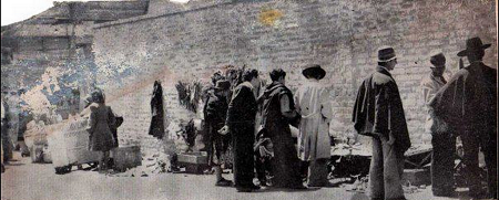 San Victorino hacia 1940 (Foto @BogotaAntigua)