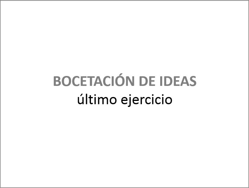 BOCETACION - Ejercicio Final 2015