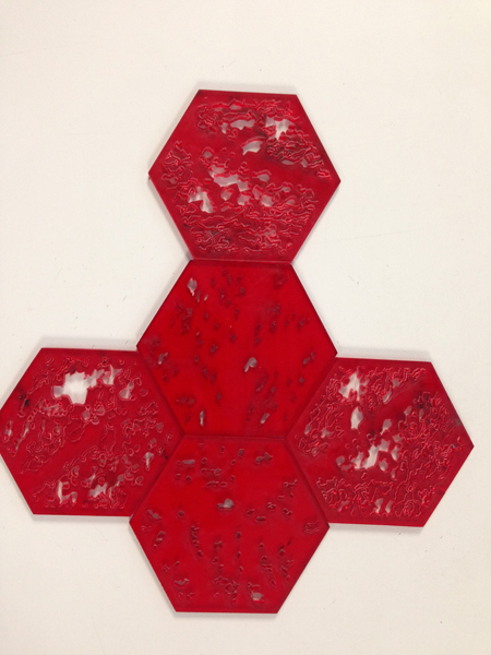 Felipe pedaraza módulos hexagonales