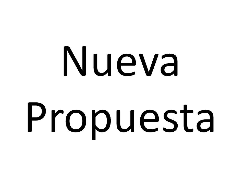 Nueva Propuesta