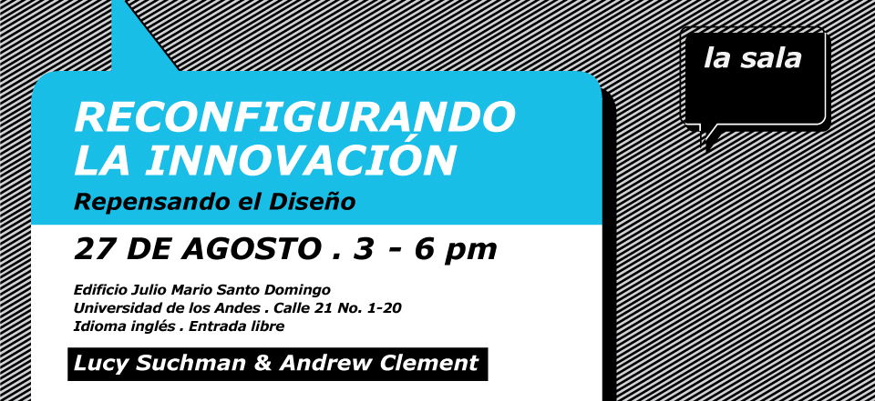 Seminario con Lucy Suchman y Andrew Clemment